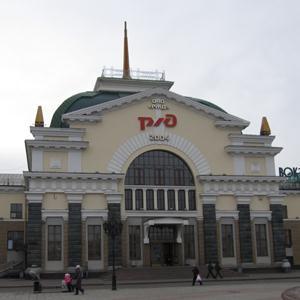 Железнодорожные вокзалы Луховиц